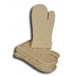 Olive check oven glove 33x17