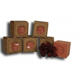 Marseille soap 100g red fruits