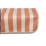 Treated table cloth, cabana rouge, cotton 250x160
