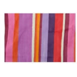 Treated table cloth, electric fuschia, cotton 230x150