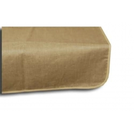 Treated table cloth, natural, linen 250x150