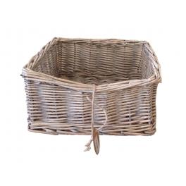 Wicker serviette basket 20x20