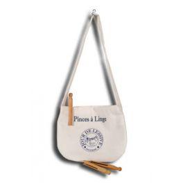 Jour de lessive peg bag with strap 18x18
