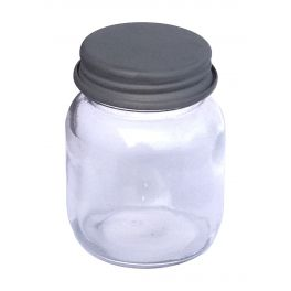 Jar with zinc lid d6 h7