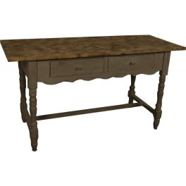 Kitchen table h.80 150x68 distressed finish