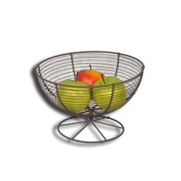 Wire fruit basket, powder coated d23 h14