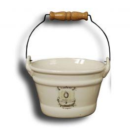 La salle de bain ceramic pail 18.5x13