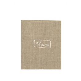 Linen natural tea towel L 70 x W 50