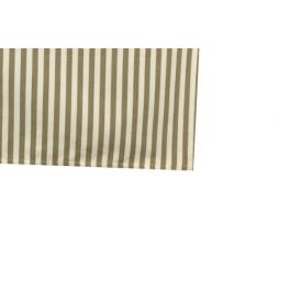 Olive stripe table cloth L 250 x W 140