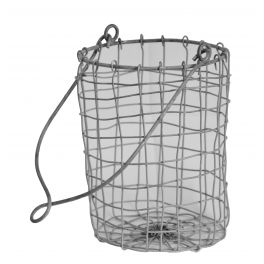 Wire mesh peg panier d13 h18