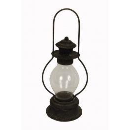Free standing vintage lantern d13 h39