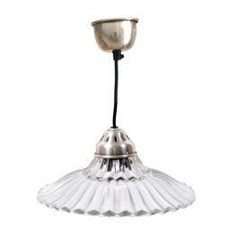 Wall Lights With Matching Ceiling Lights : scalloped glass ceiling light with matching metal ceiling cup, d.26.5 h.7.5