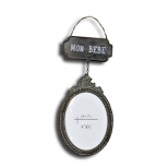 Photo frame pendant Mon Bebe, metal H 29 x W 12