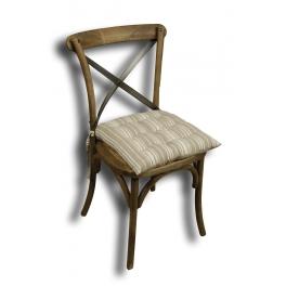 Chair cushion 42x42 'histoire de cuisine'