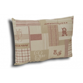 Rectangular cushion 60x43 'ABC'