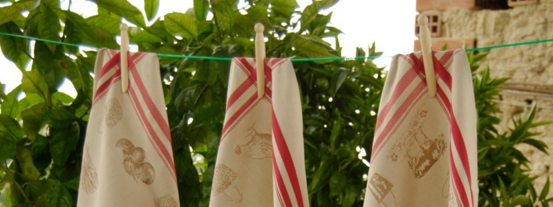 French kitchen linens